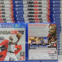 PALING MURAH !! PS4 NBA 2K18 REG 3 ASIA ENGLISH