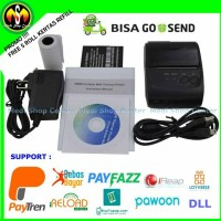 Jual Zjiang Mini Portable Bluetooth Thermal Printer Murah
