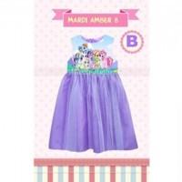 BAJU ANAK KITA / Dress Mardi Amber 8 B - GD3705