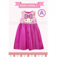 BAJU ANAK KITA / Dress Mardi Amber 8 A - GD3704