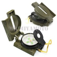 Kompas Lipat, Folded Compass Lensatic Marching, FULL METAL