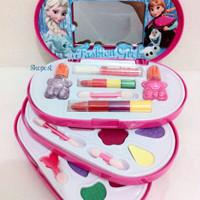 Jual  Sale  Mainan Anak Perempuan Make Up Set Frozen 3 susun Murah