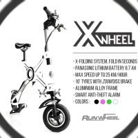 harga Runwheel Xwheel White - Sepeda Lipat / Skuter Listrik Tokopedia.com