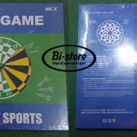 Jual perlengkapan alat olahraga Dart Board Game 17inch Sunway Sport Harga M Murah