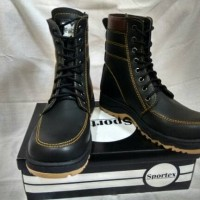 Jual safety boots high edition by sportex shoes bandung Murah