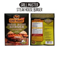 Jual STEAK HOUSE BURGER SEASONING Bumbu Daging Burger / GRILL MASTER Murah