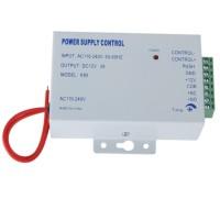 Pintu Akses Kontrol Saklar Catu Daya 3 Amp DC 12 V AC 110-240 V