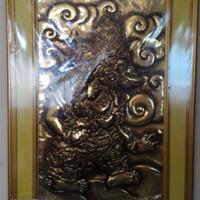 figura pajangan tokoh pewayangan Kambakarno asli kuningan