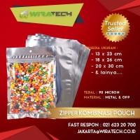 Zipper Kombinasi Pouch 13x23 cm