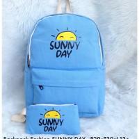 Harga fashion kekinian tas wanita backpack fashion sunny day | Pembandingharga.com