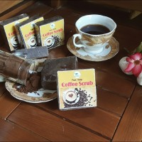 Jual Sabun batang badan herbal / body soap bhan alami varian Coffee Scrub Murah
