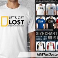 NEW Nat Geo Lost 1 CR - BAJU KAOS DISTRO PRIA WANITA ANAK OCEAN SEVEN