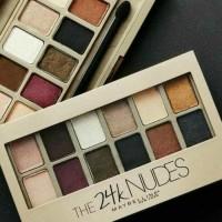 Jual Maybelline The 24K Gold Nudes Eyeshadow Pallete Murah