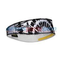 Halo II Tie Dye Pullover Headband - Black