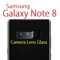 Samsung Galaxy Note 8 - Camera Lens Tempered Glass Transparent Clear