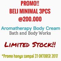 Jual Aromatherapy Body Cream Bath and Body Works ORIGINAL BBW Murah