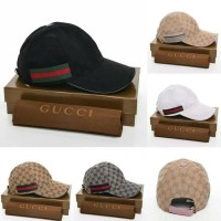 Topi Gucci GG Semi Authentic + Box Gucci