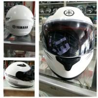 harga Helm Yamaha Fullface New (putih) Tokopedia.com