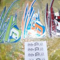 Motor Honda Scoopy 2016 FI Stiker / Lis / Striping / Stripping