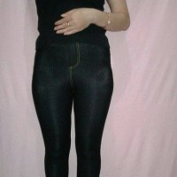 Jual Celana JEGGING dewasa muat bb-60kg  Black/Navy Murah