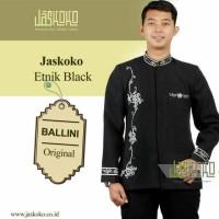 Jas Formal Pria Muslim Etnic Hitam / Jasko / Jaskoko / Baju Muslim