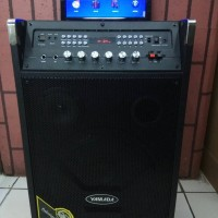 PROFESSIONAL VIDEO KARAOKE SPEAKER WITH LCD 10 INCH