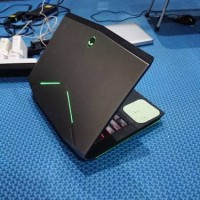Dell Alienware 14 core i7 Haswell Nvidia GTX 765M layar laptop gaming