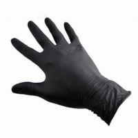 25pcs sarung tangan karet nitrile glove powder utk detailing