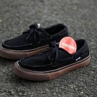 Sepatu Vans zapato Hitam Sol Gum Impor Vietnam