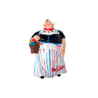 souvenir patung pajangan mini belanda lady holland noni belanda