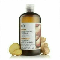 THE BODY SHOP GINGER-ANTI DANDRUFF (ANTI KETOMBE) SHAMPOO 400 ML