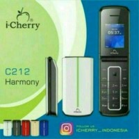 HP I CHERRY C212 HARMONY FLIP 1.8INCH DUAL SIM ( GARANSI RESMI )
