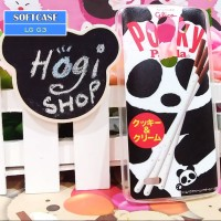 LG G3 - Softcase Custom Case Softclear Pocky Panda