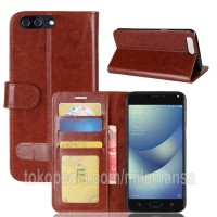 Flip Cover Asus Zenfone 4 Max Pro (Plus) ZC554KL Leather Case