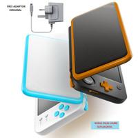 New Nintendo 2DS LL / XL CFW Luma + 32GB Full Game + Charger Original