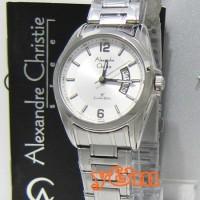 Jam Tangan Wanita Alexandre Christie AC 8289 LD FSV Original Stainless