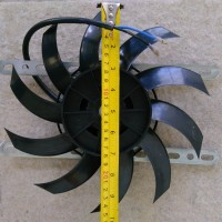 Kipas ekstra kondensor extra fan ac mobil universal ukuran kecil
