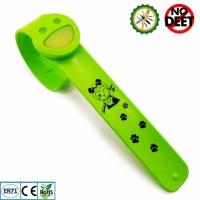 Jual Babygo Slap Mosquito Repellent Bracelet Green ( gelang Anti Nyamuk ) Murah