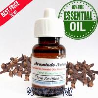 Pure Essential Clove Rectified Oil 10 ml   Minyak Atsiri Cengkeh Upgr