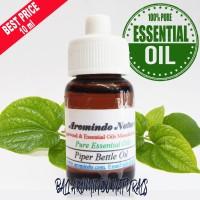 Pure Essential Piper Bettle Oil 10 ml   Minyak Essential Daun Sirih