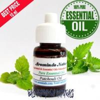 Pure Essential Patchouli Oil 10 ml   Minyak Atsiri Nilam