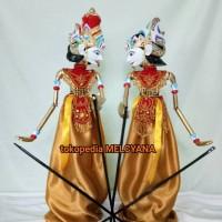 Jual Wayang Golek Rama dan Sinta Souvenir Indonesia Murah
