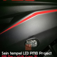 Jual Sein Tempel LED R15 New VVA Ver 3 Black Pearl Smoked High-Quality PNP Murah