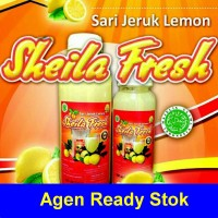 Sari Jeruk Lemon Sheila Fresh 500ml Laris