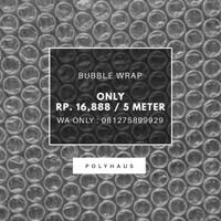 Jual PROMO!!! Plastik Bubble Wrap 125 cm x 500 cm (5 Meter) Murah