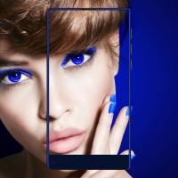 READY VKWORLD MIX PLUS 4G Bezel-less Smart Phone Purple/Blue