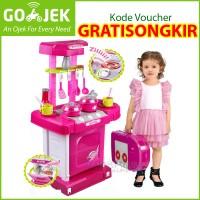 Grosir Kitchen Set Koper Pink Ongkir 2kg