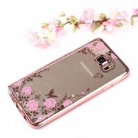 New Casing HP Casing HP Cover Samsung S5 S6 S6 EDGE S7 S7 EDGE Flower
