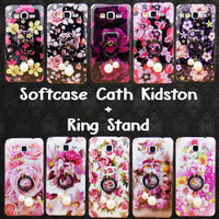 Softcase Cast Kidston + Ring Stand For Samsung/Oppo/Xiaomi/Iphone