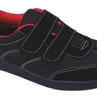 CSN 076 Sepatu casual sneakers footwear sekolah anak laki kekinian czr